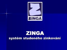 zinga - Barvy Adex