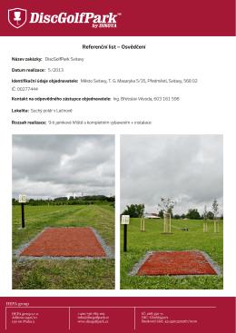 DGP Kunšovec - DiscGolfPark.cz