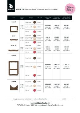Velkoobchod: Podmínky, ceník a množstevní slevy