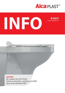 INFO 8/2015 - Alca plast, sro