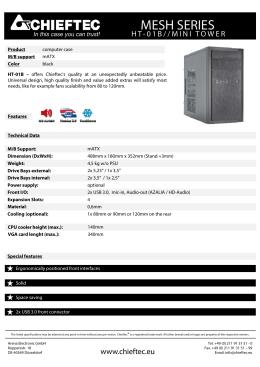 HT-01B Datasheet