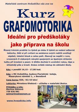 Mateřské centrum Hvězdička vás zve na www.hvezdicka.info