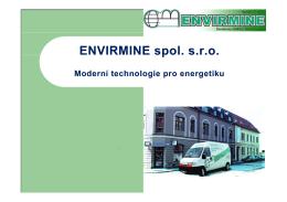 reference - Envirmine spol. s ro