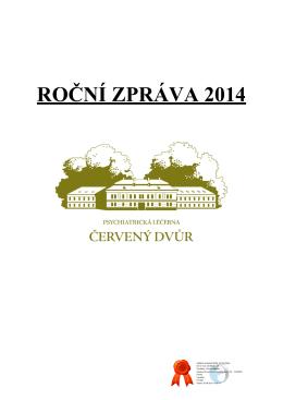 Roční zpráva za rok 2014