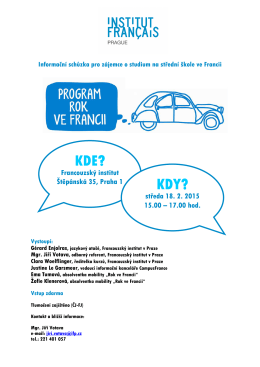 1 an en France 2015-16 Promotion IFP 18.02.2015