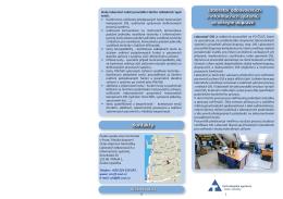05/2015 Byl zveřejněn nový informační leták laboratoře
