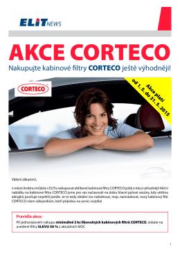 Nakupujte kabinové filtry CORTECO ještě výhodněji!