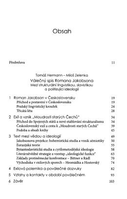 Obsah knihy