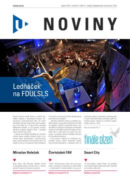 duben 2015 - Univerzitní noviny - Západočeská univerzita v Plzni