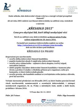 Vyzva KRESADLO_PHA_2015