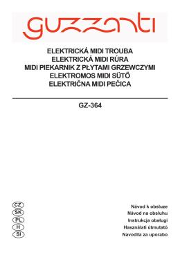 GZ-364 ELEKTRICKÁ MIDI TROUBA ELEKTRICKÁ MIDI RÚRA