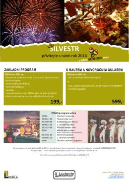 Mexický Silvestr 2016 | Základní vstupné 199