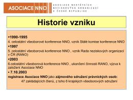 prezentace asociace nno v české republice