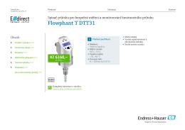 Flowphant T DTT31 (PDF 1,96 MB)