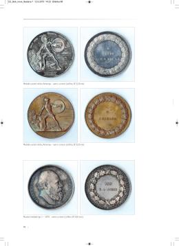 Medaile uznání městu Antverpy – avers a revers (stříbro, Ř 51,8 mm