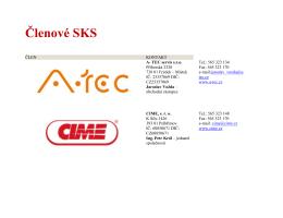 Členové SKS - Sdružení komunálních služeb