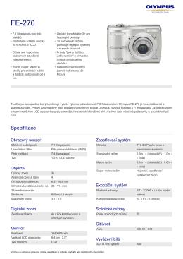 FE-270 - Olympus