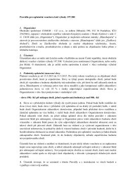 Pravidla pro uplatnění voucheru kód výhody 197.500