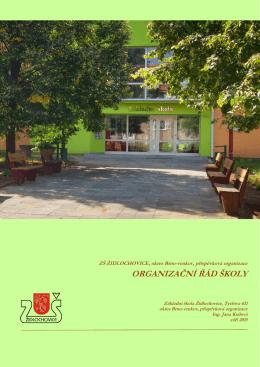 Organizační řád 2015 - Základní škola Židlochovice