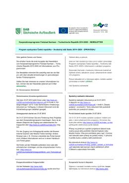 Zpravodaj 1/2015 - sasko 2014-2020