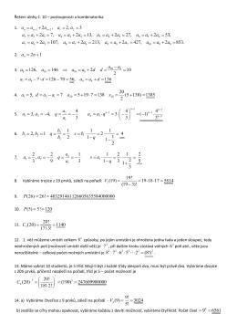 Řešení domácího úkolu č.10.
