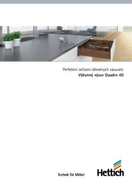 Quadro 4D katalog - Nábytkové kování M-KUPR