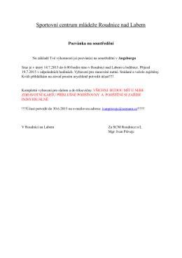 Pozvánka na 4. soustředění Augsburg.pages