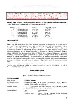 EVRAZ-válcovna za tepla UZ 1-6