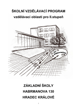 Školní vzdělávací program III