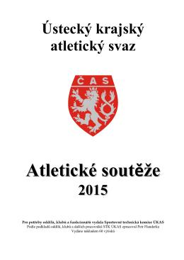 Soutěžní brožura ÚKAS dráha 2015