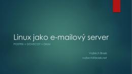 Linux jako e-mailový server