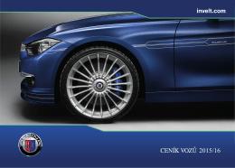 Ceník - BMW Alpina