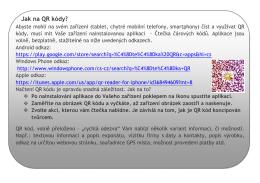 Jak na QR kódy - Chalupa Beranovec