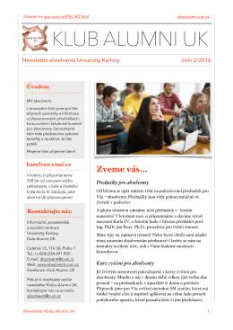 Alumni 2016-02 - Informační, poradenské a sociální centrum