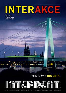 NOVINKY Z IDS 2015
