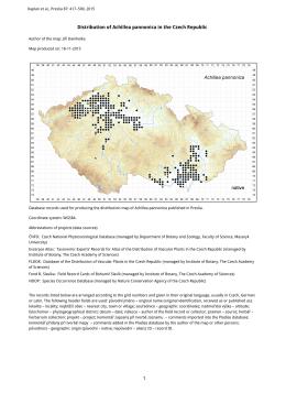 Achillea pannonica (pdf 1352K)