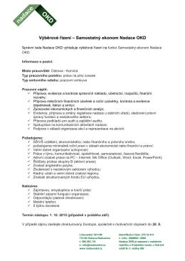 Výběrové řízení_ekonom