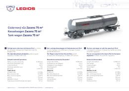 Cisternový vůz Zacens 75 m³ Kesselwagen Zacens 75 m³ Tank