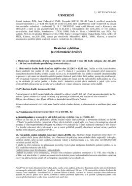 Exekutorský úřad Praha 6