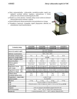 AXSZ2 - AXIMA, spol. s ro