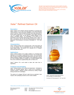 Xalar Refined Salmon Oil