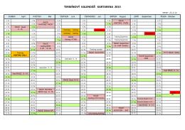 kalendář 2015 1 x A4 Finisch