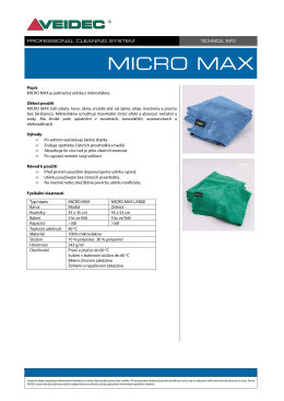 TECH INFO - MICRO MAX L