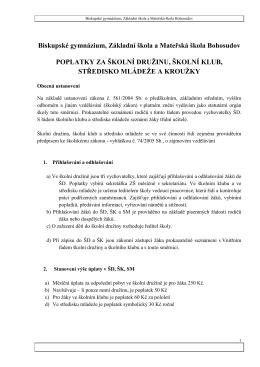 Biskupské gymnázium, Základní škola a Mateřská škola Bohosudov