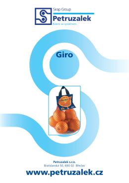 Giro www.petruzalek.cz