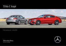 Stáhnout ceník kupé třídy C  - Mercedes-Benz