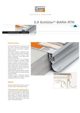 Schlüter®-BARA-RTK