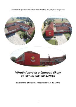 2014/2015. - ZŠ Loma. Příbor