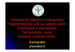 Přednáška 6