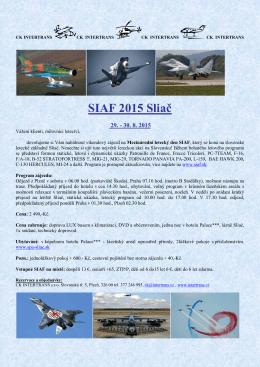 SIAF 2015 Sliač